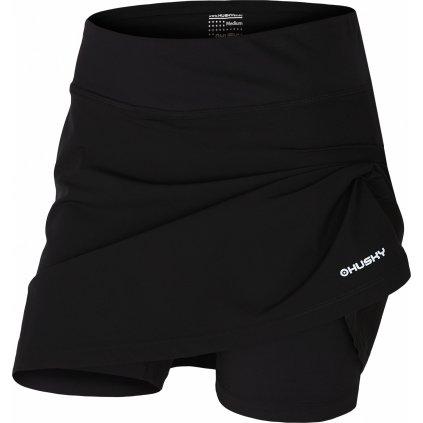 Dámská sukně se šortkami HUSKY Flamy L černá