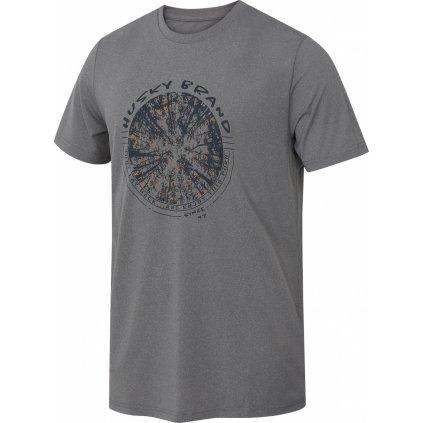 Pánské funkční tričko HUSKY Tash M šedá