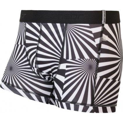 Pánské boxerky SENSOR Coolmax impress černá/geometry
