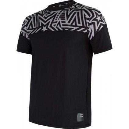 Pánské funkční tričko SENSOR Coolmax impress černá/stars