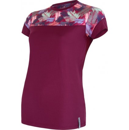 Dámské funkční tričko SENSOR Coolmax impress růžová/feather