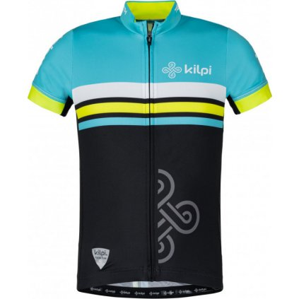 Dětský cyklo dres KILPI Corridor-jb modrá