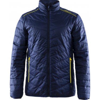 Pánská zateplená bunda CRAFT Ski Team Primaloft tmavě modrá