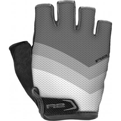 Dámské cyklistické rukavice R2 Ombra šedé