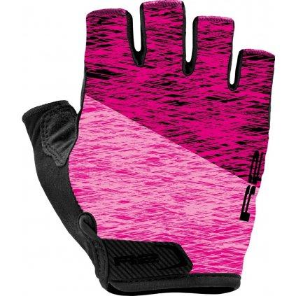 Cyklistické rukavice R2 Spike růžové