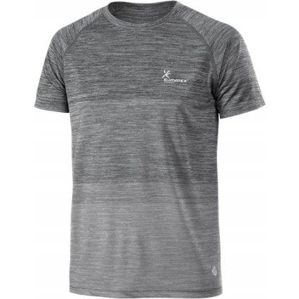 Pánské běžecké triko KLILMATEX Geno šedá
