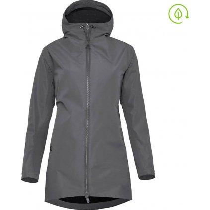 Dámská lehký kabát WOOX Ventus Urban Blackened Pearl Chica