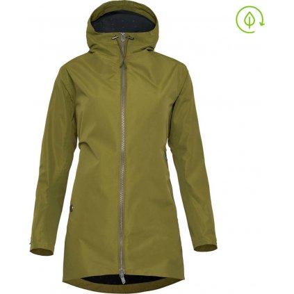 Dámský lehký kabát WOOX Ventus Urban Avocado Chica