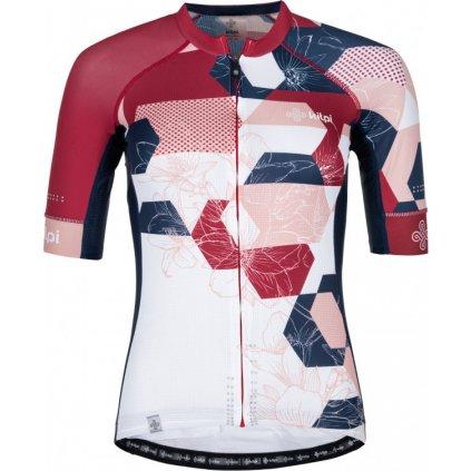 Dámský cyklo dres KILPI Adamello-w růžová
