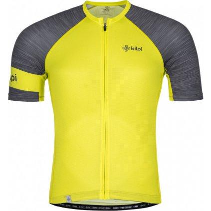 Pánský cyklistický dres KILPI Selva-m světle zelená