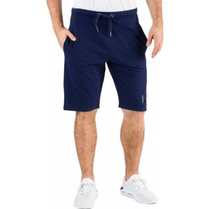 Pánské teplákové šortky SAM 73 Aksel modré