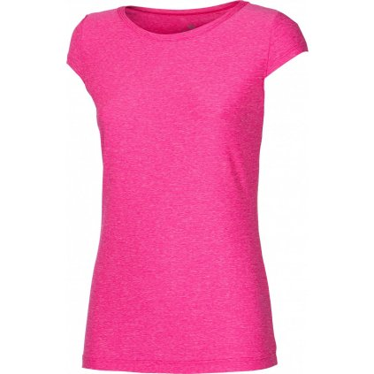 Dámské sportovní tričko PROGRESS Cordoba růžový melír