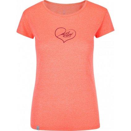 Dámské tričko KILPI Garove-w korálová