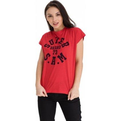 Dámské triko SAM 73 Robyn červené
