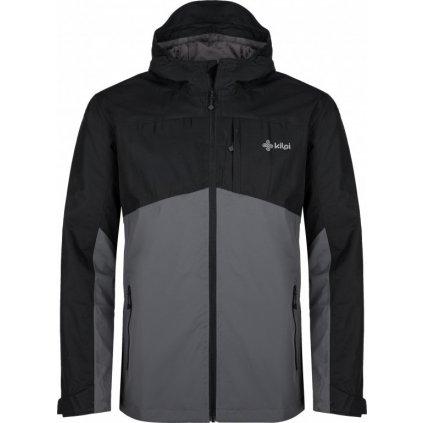 Pánská outdoorová bunda KILPI Orleti-m tmavě šedá
