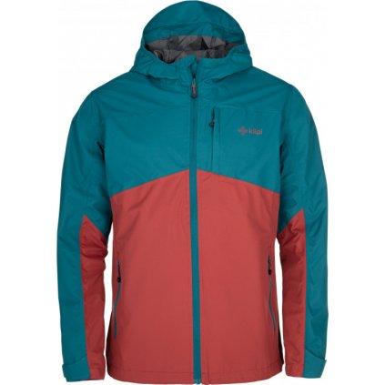 Pánská outdoorová bunda KILPI Orleti-m tmavě červená