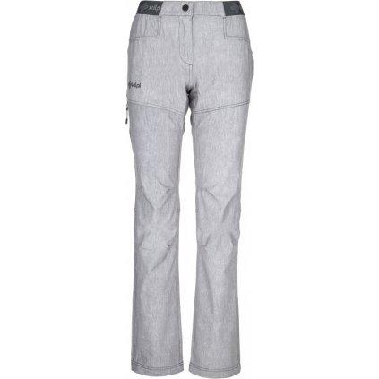 Dámské outdoorové kalhoty KILPI Mimicri-w světle šedá