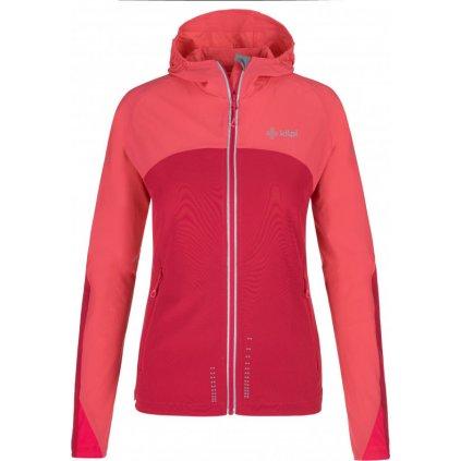 Dámská softshellová bunda KILPI Balans-w růžová
