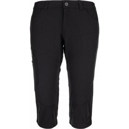 Dámské 3/4 turistické kalhoty KILPI Otara-w černá
