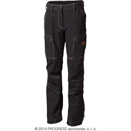 Dámské zimní technické kalhoty PROGRESS Quetta černá