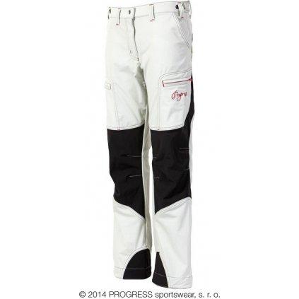 Dámské zimní technické kalhoty PROGRESS Quetta bílá/černá