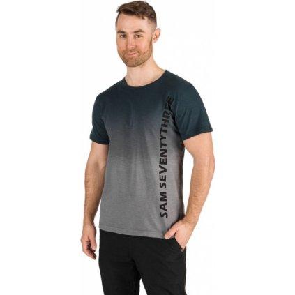 Pánské triko SAM 73 Nik černé