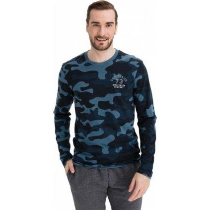 Pánské tričko SAM 73 Reggie modré