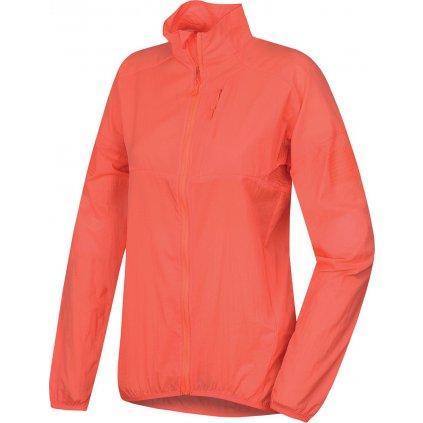 Dámská ultralehká bunda HUSKY Loco L neonově růžová