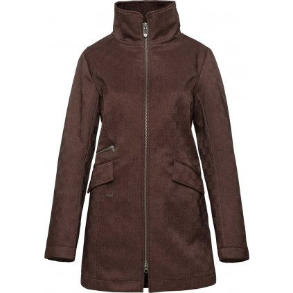 Dámský softsherllový kabát WOOX Latebra Fuscus Collarium