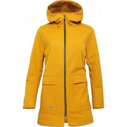Dámský softshellový kabát WOOX Mollis Concha Tawny Olive Chica