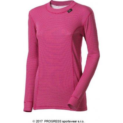 Dámské funkční tričko PROGRESS Ms Ndrz tm.růžová