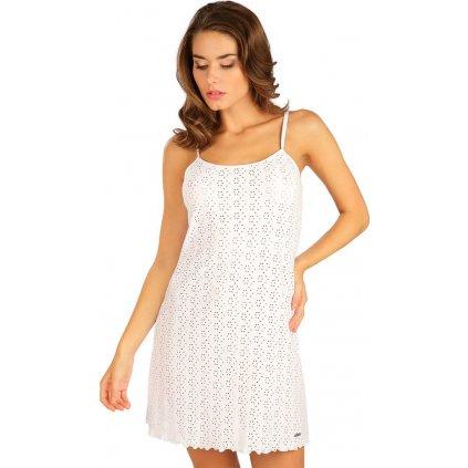 Dámské šaty LITEX na ramínka bílé