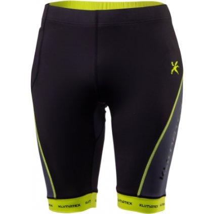 Pánské běžecké šortky KLIMATEX Botan černá