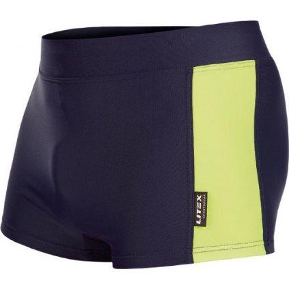 Pánské plavky LITEX boxerky modré