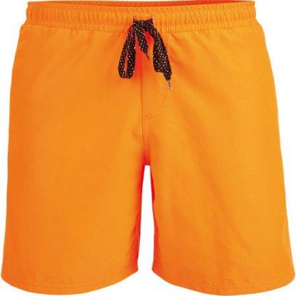 Pánské koupací šortky LITEX oranžové