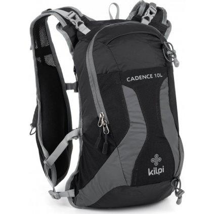 Turistický batoh KILPI Cadence-u 10L černá