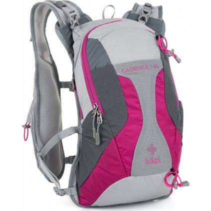 Turistický batoh KILPI Cadence-u 10L růžová