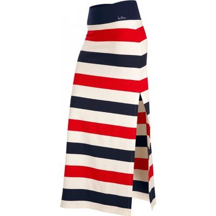 Dámská sukně LITEX dlouhá bílá/modrá/červená