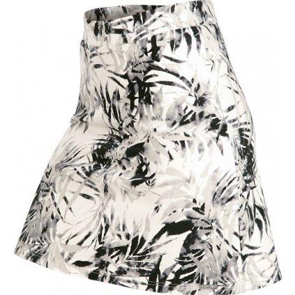 Dámská sukně LITEX bílá/černá