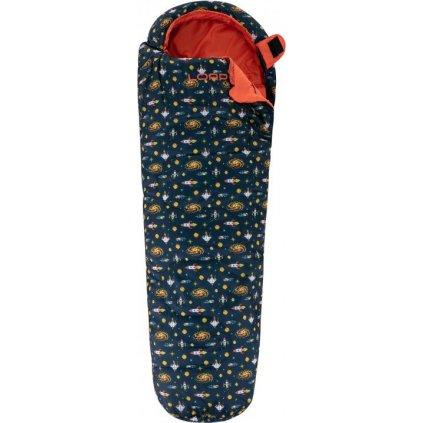 Dětský spací pytel mumie LOAP Galla Cosmo modrá