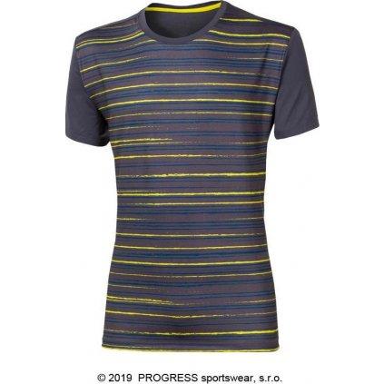 Pánské sportovní tričko PROGRESS Power šedá