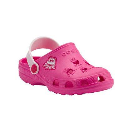 Dětské sandály LITEX Coqui little frog růžové
