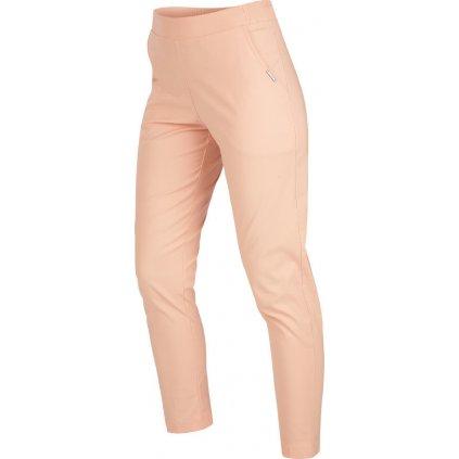 Dámské kalhoty LITEX do pasu růžové