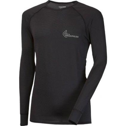 Pánské funkční tričko PROGRESS St Ndr černá