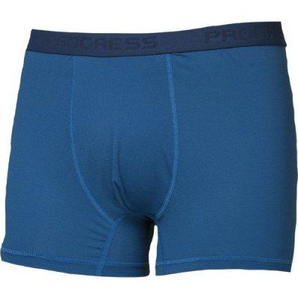 Pánské funkční boxerky PROGRESS St Skn modrá
