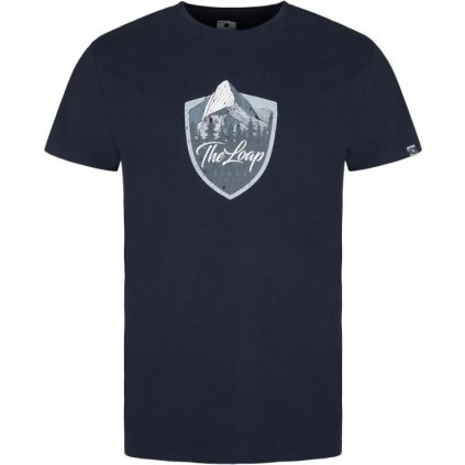 Pánské triko LOAP Alesh modré