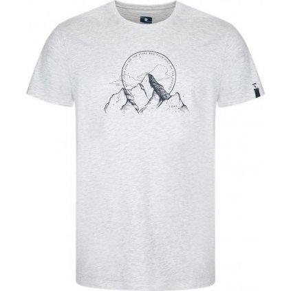 Pánské triko LOAP Bogar bílé