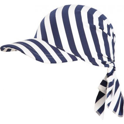 Dětský šátek LITEX s kšiltem proužky