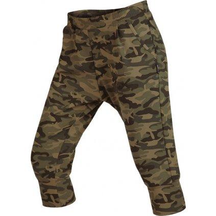 Dámské 3/4 kalhoty LITEX se sníženým sedem khaki