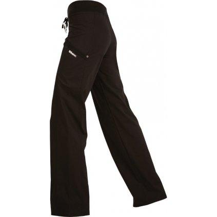 Dámské dlouhé kalhoty LITEX do pasu černé